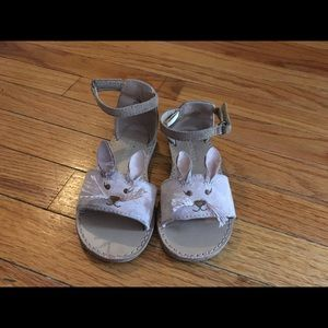 Old Navy Shoes - Old navy critter suede sandals